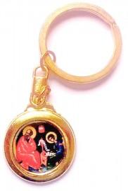 Patmos Icon Keyring